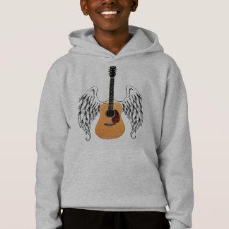 飛んだアコースティックギター