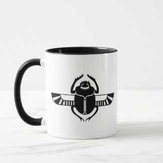 飛んだオオタマオシコガネ マグカップ