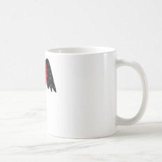 飛んだ中心 コーヒーマグカップ