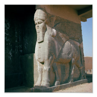飛んだ人間頭の雄牛、新アッシリアの期間 ポスター