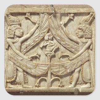 飛んだ天才、アッシリアの期間、c.750紀元前に(アイボリー) スクエアシール