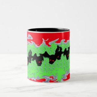 飛んだ狂気の熱い飲料容器 ツートーンマグカップ