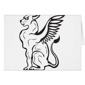 飛んだ猫の創造物 カード