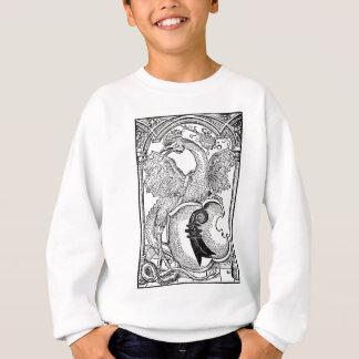 飛んだ蛇のトレーナー スウェットシャツ