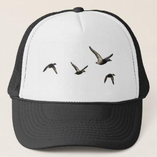飛んでいるなアヒルの帽子 キャップ