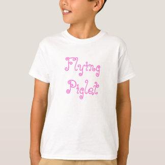 飛んでいるなコブタ Tシャツ