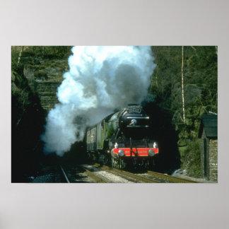 飛んでいるなスコットランド人は男爵でWトンネルの間でつかまえました ポスター