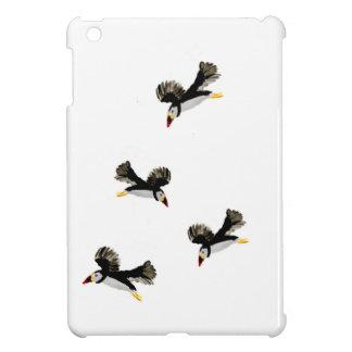 飛んでいるなツノメドリの芸術 iPad MINI CASE