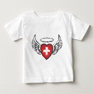 飛んでいるなハートcross.ai ベビーTシャツ