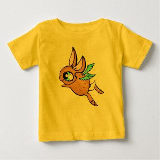 飛んでいるなバニー ベビーTシャツ