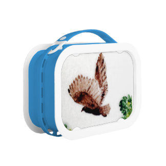 飛んでいるなフクロウの芸術 ランチボックス