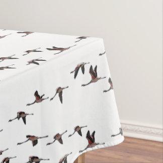 飛んでいるなフラミンゴのテーブルクロス(色を選んで下さい) テーブルクロス