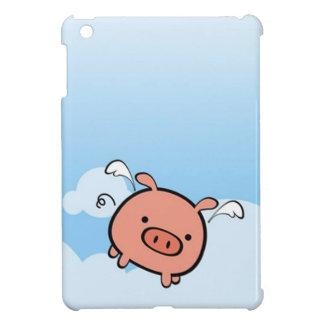 飛んでいるなブタのiPad Miniケース iPad Mini Case