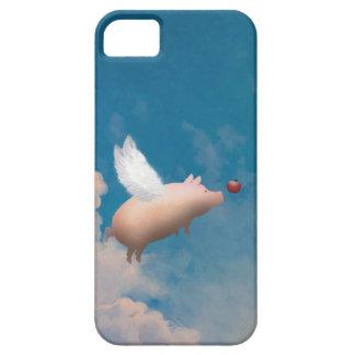 飛んでいるなブタのiphoneの場合 iPhone SE/5/5s ケース