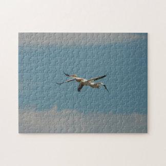 飛んでいるなペリカン2のパズル ジグソーパズル
