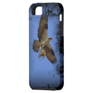 飛んでいるなミサゴ(魚タカ)のiPhone 5の場合 iPhone SE/5/5s ケース