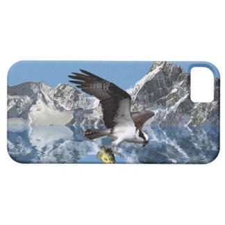飛んでいるなミサゴ、魚及び山の野性生物の芸術2 iPhone SE/5/5s ケース