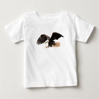 飛んでいるなワシ ベビーTシャツ