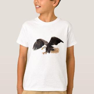 飛んでいるなワシ Tシャツ