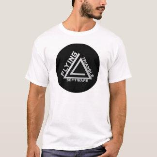 飛んでいるな三角形ソフトウェア Tシャツ