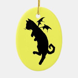 飛んでいるな子猫 セラミックオーナメント