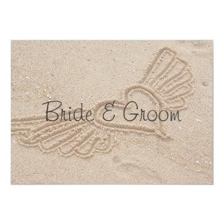 飛んでいるな愛結婚式招待状 カード