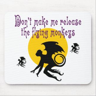 飛んでいるな猿のマウスパッド マウスパッド