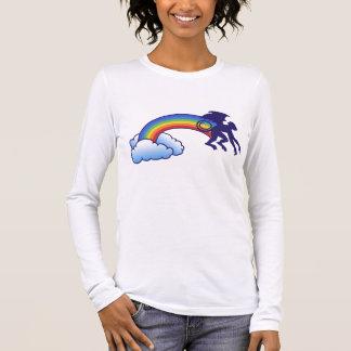 飛んでいるな猿の虹 Tシャツ
