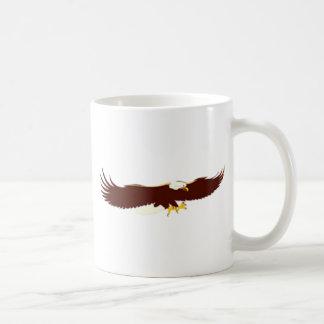 飛んでいるな白頭鷲 コーヒーマグカップ
