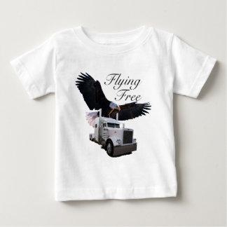 飛んでいるな自由 ベビーTシャツ