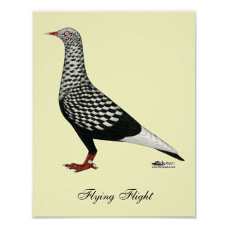 飛んでいるな飛行Teager ポスター