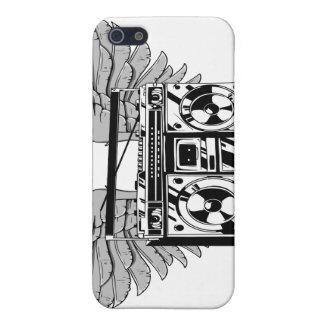 飛んでいるなboombox iPhone 5 cover