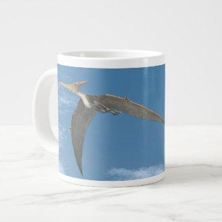 飛んでいるPteranodonの恐竜- 3Dは描写します ジャンボコーヒーマグカップ