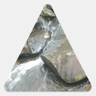 飛石 三角形シール
