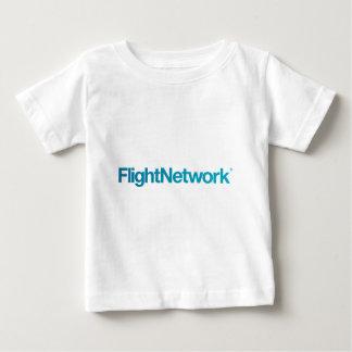 飛行ネットワークのロゴの服装 ベビーTシャツ