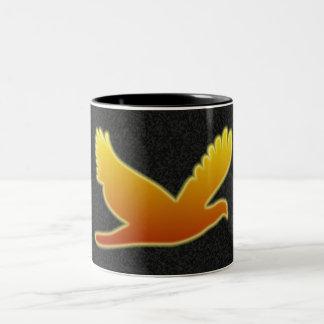 飛行フェニックス ツートーンマグカップ