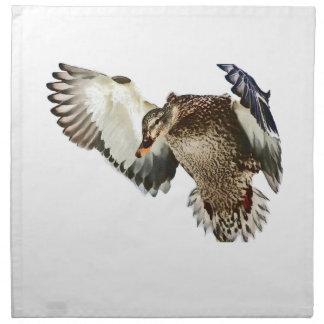 飛行中のアヒル ナプキンクロス