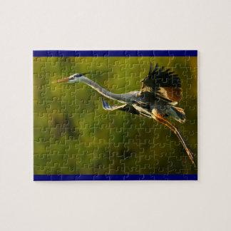 飛行中の素晴らしい青鷲 ジグソーパズル