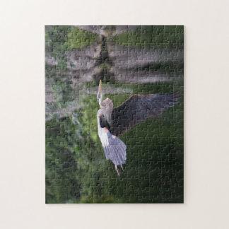 飛行中の素晴らしい鷲 ジグソーパズル