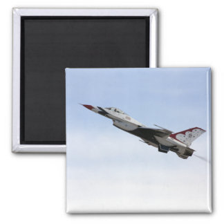 飛行中のF-16雷鳥 マグネット