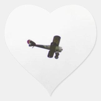 飛行中のNieuport 28モデル ハートシール