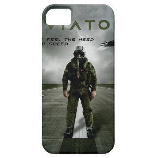 飛行士の戦闘機のパイロット iPhone SE/5/5s ケース