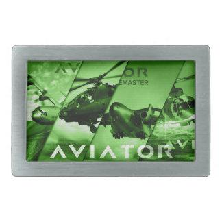 飛行士の航空機 長方形ベルトバックル