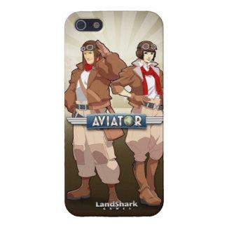 飛行士-光沢のあるiPhone 5カバー iPhone SE/5/5sケース