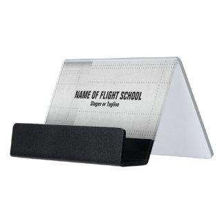 飛行学校かFBO デスク名刺ホルダー