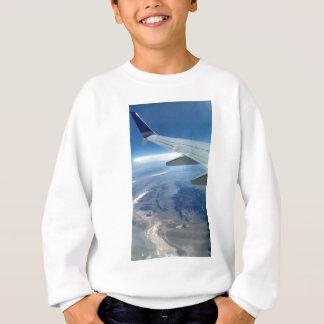 飛行機から スウェットシャツ