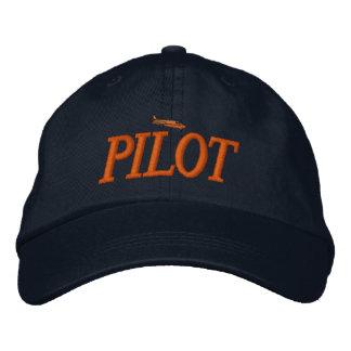 飛行機のパイロットによって刺繍される帽子 刺繍入りキャップ