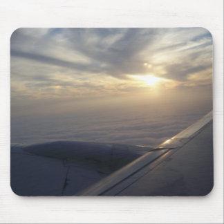 飛行機のマウスパッドからの眺め マウスパッド