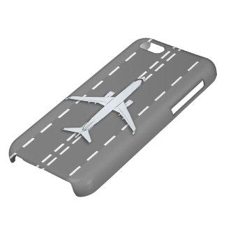 飛行機のヴィンテージFR-13の光沢のあるiphone 5c iPhone5Cケース