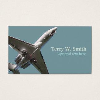 飛行機の名刺 名刺